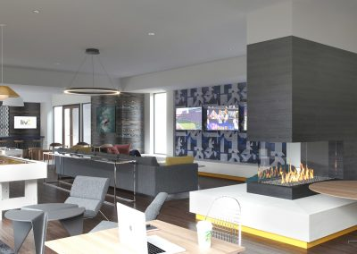 Spacious clubhouse to catch up with friends or enjoy multiple gaming options!