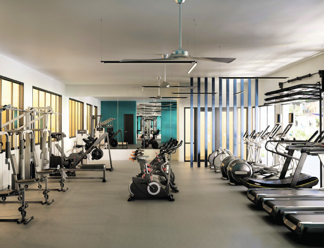 Multiple State-of-the-art Fitness Areas
