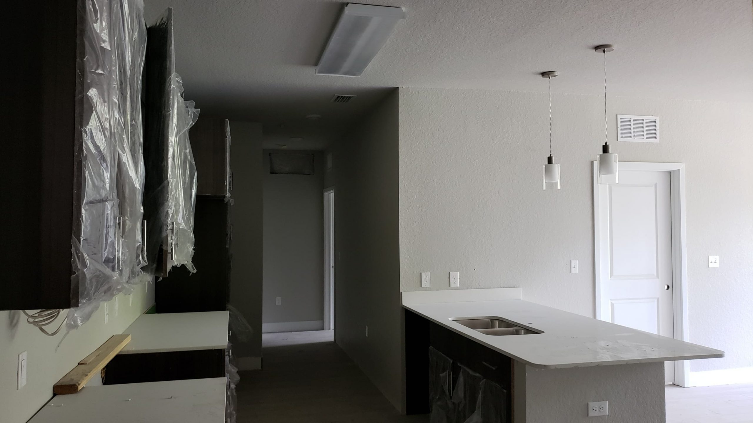 Inside of an Apartment at LIV+ Gainesville Undergoing Construction