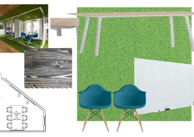 Floor Plan Design for a Study Room at Liv+ Gainesville Apartments