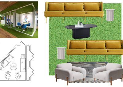 Floor Plan Design for a Study Room at Liv+ Gainesville's UF Apartments