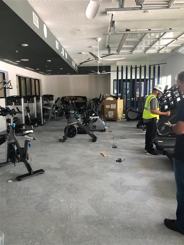 Gym at Liv+ Gainesville Apartments That's Under Construction
