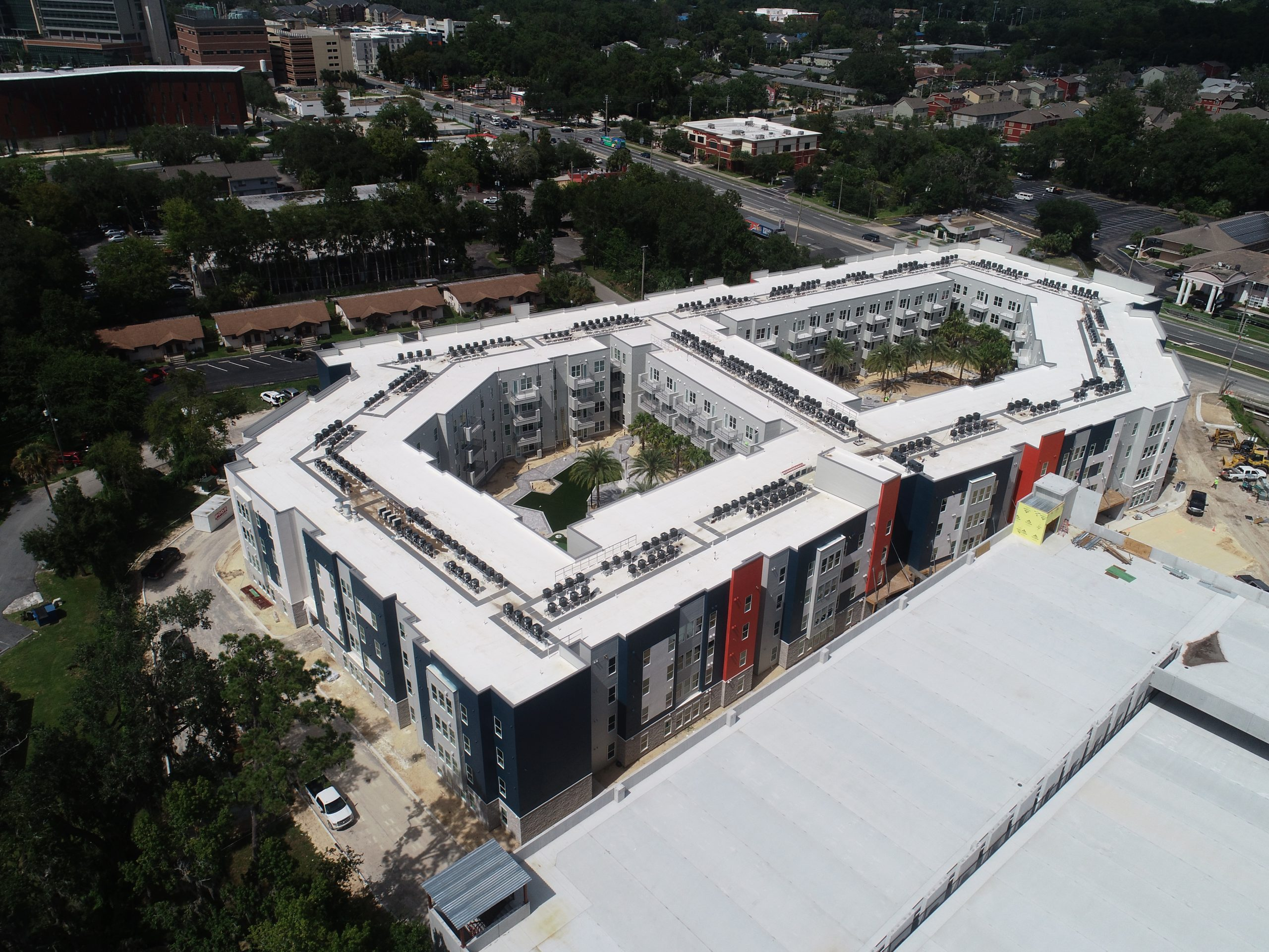 Birds-Eye View of LIV+ Gainesville Apartments in Florida