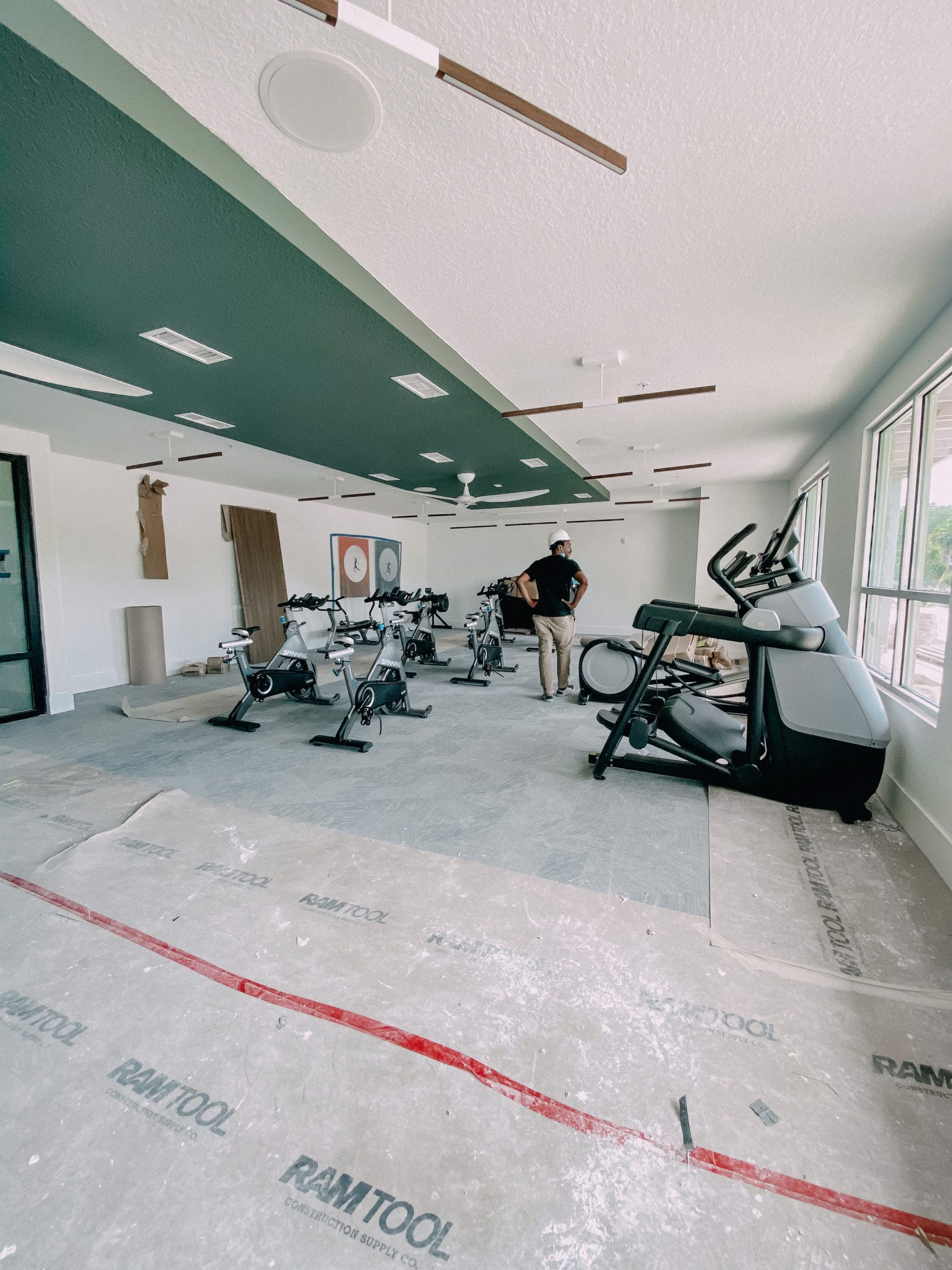 Exercise Room at Liv+ Gainesville That's Under Construction