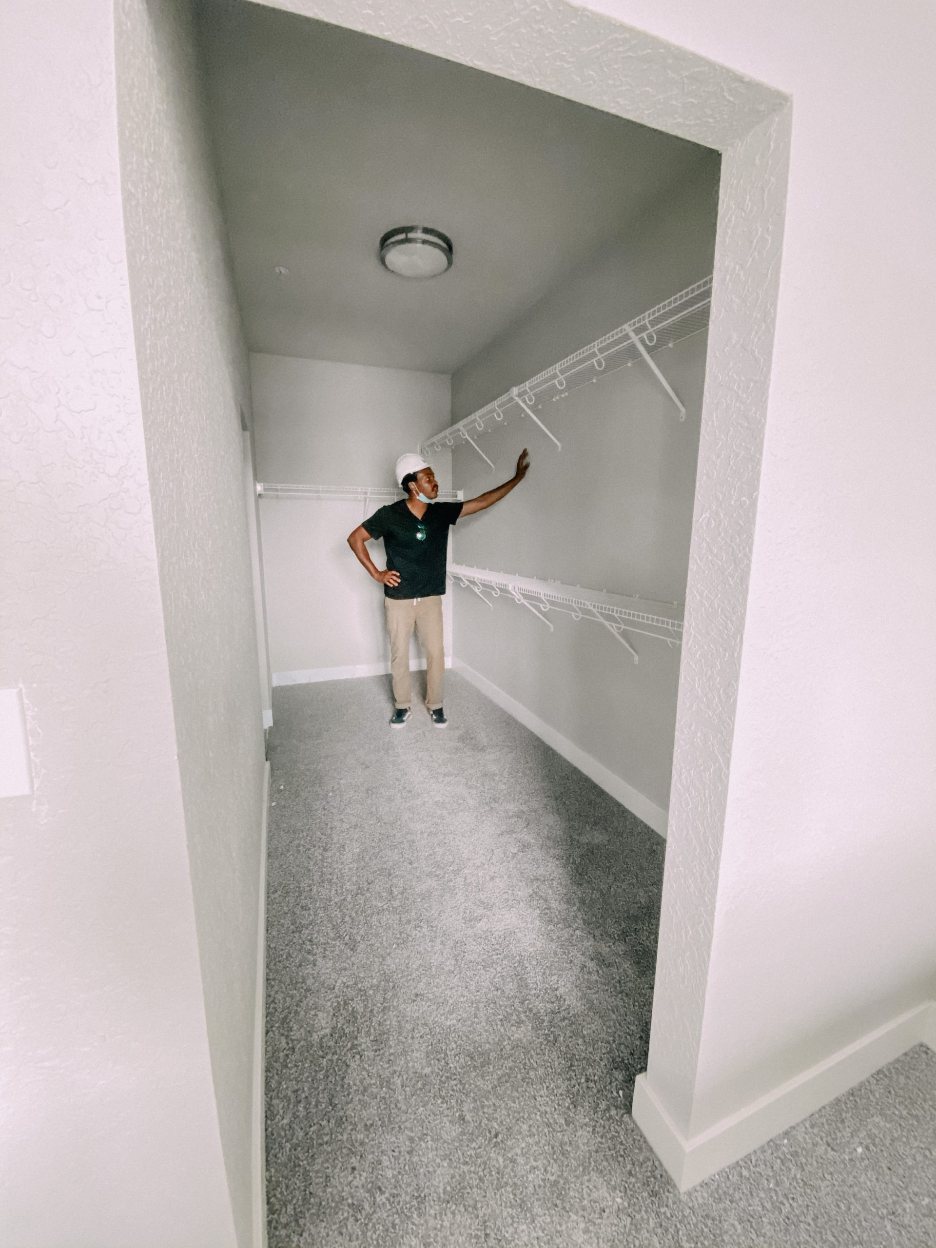 Closet of a Room at Liv+ Gainesville Apartments